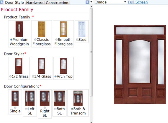 Entry Door Configuration