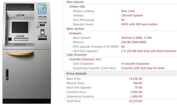 ATM Configurator Print